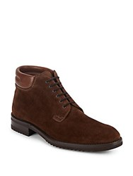 Gravati Leather Ankle Boots Brown