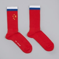 Gosha Rubchinskiy Flag Socks Red