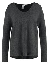 Gap Jumper Charcoal Heather Dark Grey