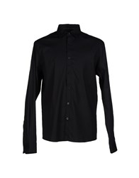 Solid Shirts Shirts Men Black