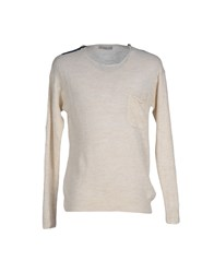Daniele Fiesoli Knitwear Jumpers Men Ivory