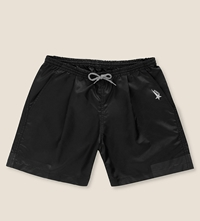 Golden Goose Shell Shorts Black