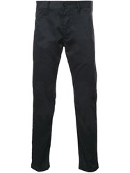 Bedwin And The Heartbreakers Slim Fit Trousers Black
