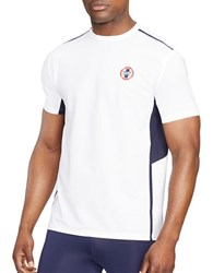 Polo Ralph Lauren Paneled Performance T Shirt Pure White