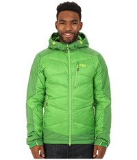 Outdoor Research Diode Hooded Jacket Flash Dark Flash Men's Coat Green