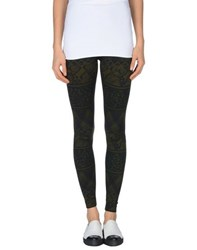 Pierre Balmain Trousers Leggings Women Dark Green