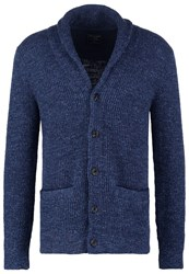 Abercrombie And Fitch Cardigan Navy Dark Blue