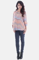 Everly Grey 'Florence' Maternity Tunic Gypsy Multi