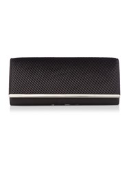 Linea Satin Clutch Black