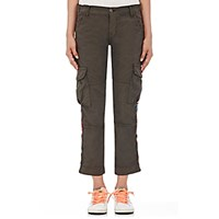 Nsf Women's Basquit Cargo Pants Dark Grey Dark Green Dark Grey Dark Green
