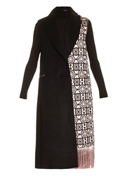 Edun Fringed Moroccan Weave Sleeveless Coat