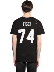 Les Artists Tisci Printed Cotton Jersey T Shirt