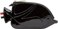 Thom Browne Black Trigger Reef Fish Coin Pouch