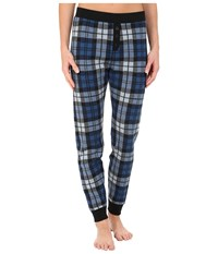 Ugg Whitney Pants Blue Jay Plaid Women's Casual Pants