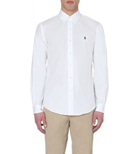 Ralph Lauren Oxford Custom Fit Single Cuff Shirt A1000 White