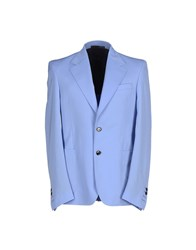 Cnc Costume National Costume National Homme Suits And Jackets Blazers Men Pastel Blue