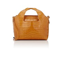 The Row Women's Alligator Two For One 12 Shoulder Bag And Pouch Yellow