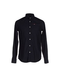 Napapijri Shirts Shirts Men Dark Blue