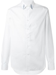 Alexander Mcqueen Tattoo Collar Shirt White