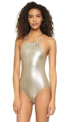 Pilyq Oro Reversible Seamless Wave One Piece