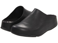 Fitflop Shuv Leather Black Women's Clog Shoes