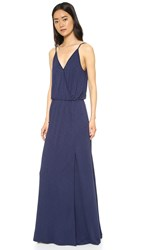 Lanston Back Bar Slit Maxi Dress Mystic