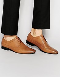 Kg By Kurt Geiger Eccleshall Derby Brogues Tan