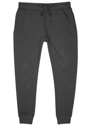 Alternative Apparel Charcoal Organic Terry Jogging Trousers Black