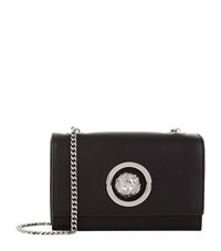 Versus By Versace Versus Versace Mini Flap Chain Calf Shoulder Bag Female Black