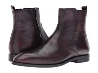 Bacco Bucci Falcao Burgundy Men's Shoes