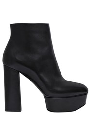 Casadei 120Mm Leather Ankle Boots