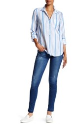 Democracy Raw Hem Jegging Blue