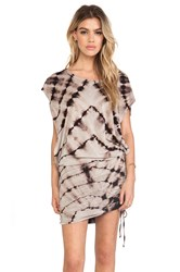 Blue Life Ruched Tee Dress Tan