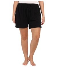 Jockey Cotton Essentials Plus Size Boxer Black Women's Pajama