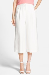 Chelsea 28 Pleat Front Culottes White Snow
