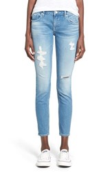 Women's Vigoss 'Chelsea' Super Skinny Jeans Light Wash