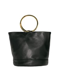 Pixie Market Ring Mini Leather Bucket Bag