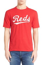 Men's Red Jacket 'Cincinnati Reds Twofold' Crewneck T Shirt
