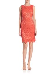 Sue Wong Lace Sheath Dress