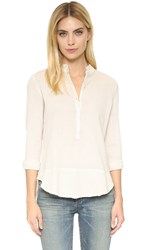 Zadig And Voltaire Tone Crinkle Blouse Ice