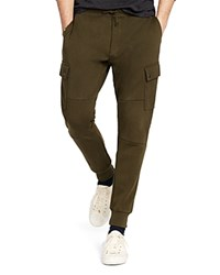 Polo Ralph Lauren Double Knit Cargo Pants Deep Loden