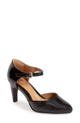 Women's Sofft 'Palesa' Leather Pump Black Patent