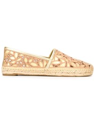 Tory Burch 'Aline' Espadrilles Nude And Neutrals