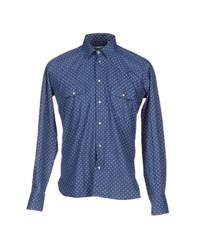 U Ni Ty Shirts Shirts Men Blue