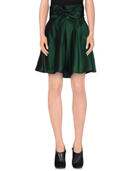 Alexis Mabille Mini Skirts Green