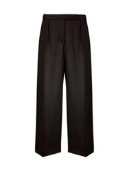 Carven Cropped Formal Trousers Black