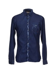 It's Met Shirts Dark Blue