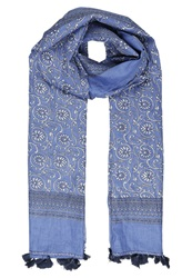 Miss Selfridge Indochine Scarf Blue