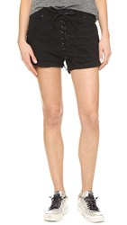 One Teaspoon Panther Superfreaks Shorts Black Panther