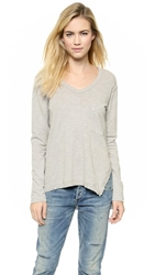 Wilt Slouchy Slit Pocket Tee Seal